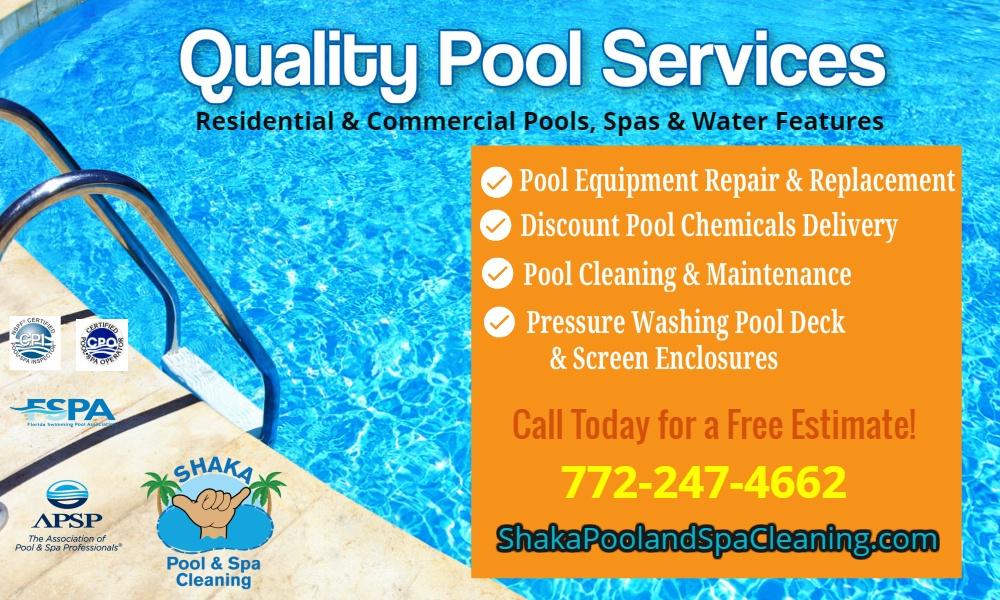 Shaka Pool & Spa Cleaning